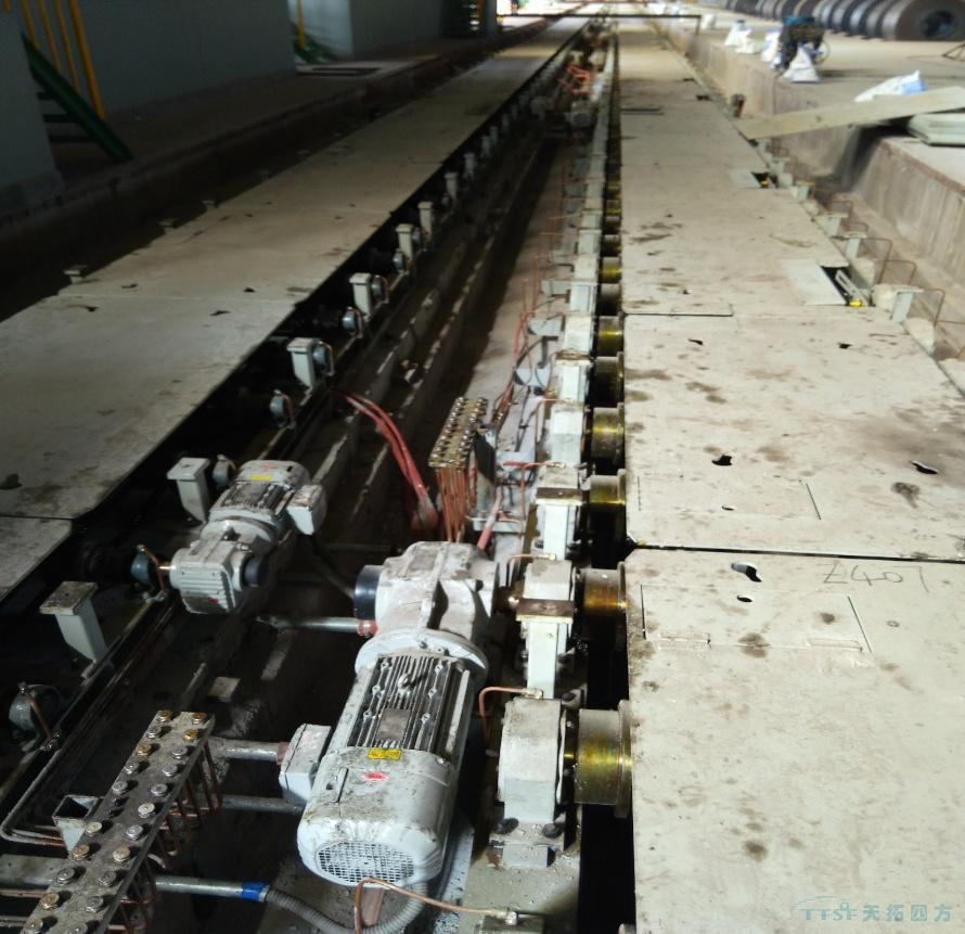 天拓四方1580mm热轧至冷轧托盘运输工程顺利验收