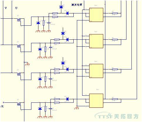 开关电源采用的是uc3844b,这是芯片厂家提供的标准电路,西门子基本