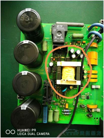 mm4小尺寸电路板开关电源部分