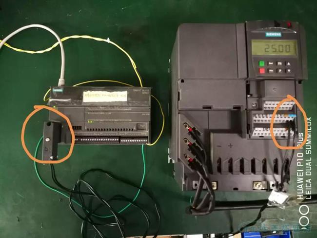 刘师傅讲堂 | MM4系列变频器的I/O板485通讯口的检测